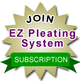 EZ Pleating System by eYarder com | Ripplefold Calculator